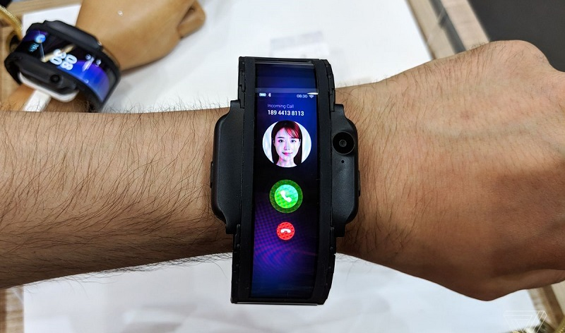Forget the smartwatch, wear a bendable phone instead 5