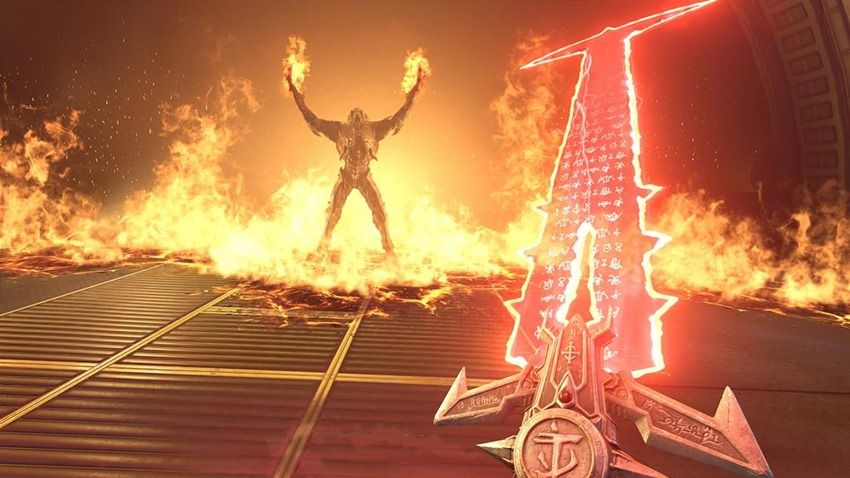 DOOM Eternal is a fantasy combat puzzle according to id Software 3