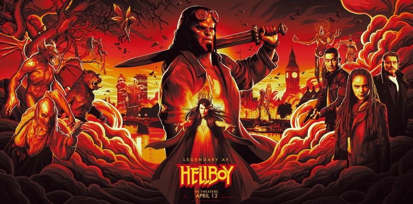 Celebrate Hellboy Day and you could get to see the movie early 8