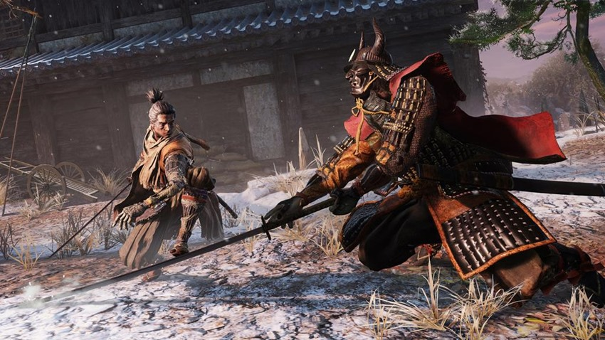Boss encounters have their own unique atmosphere in Sekiro: Shadows Die Twice 3