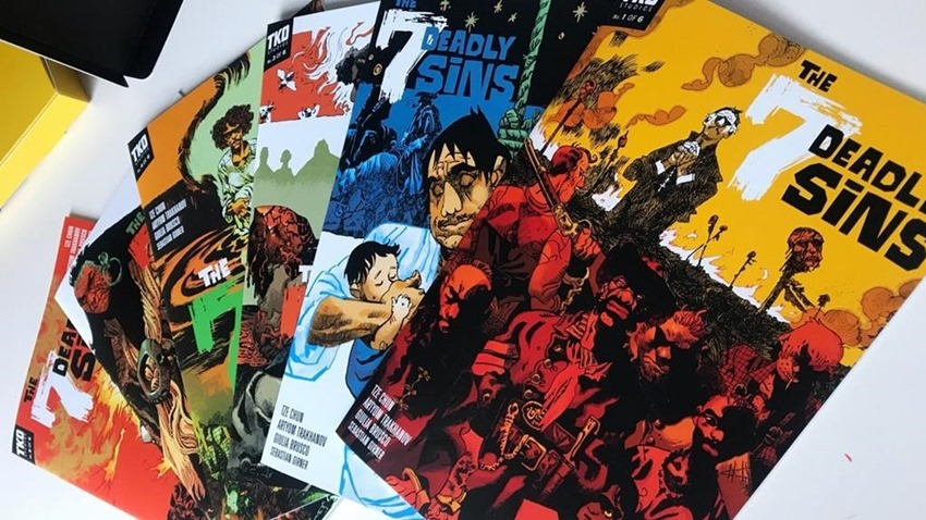 TKO Studios are shaking up the comic book industry with some great new ideas 2
