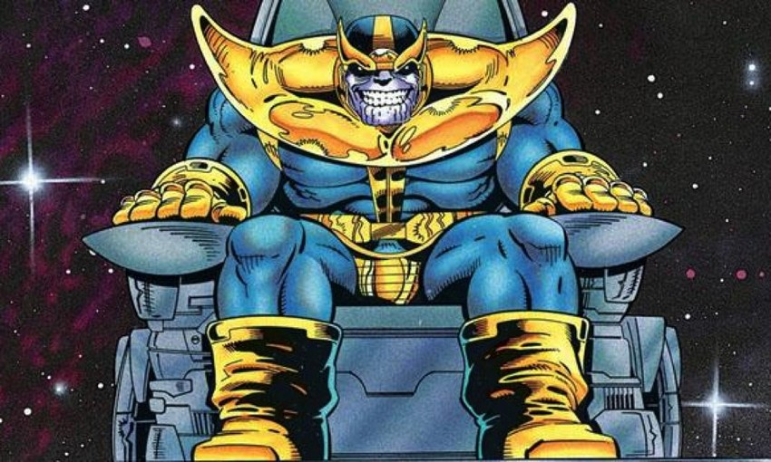 No, Captain Marvel's Skrulls and Thanos are not related... well, kinda 10