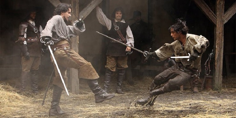 Netflix is making a modernised adaptation of The Three Musketeers 2