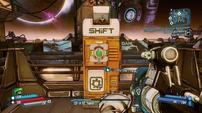 how to enter shift codes borderlands 1