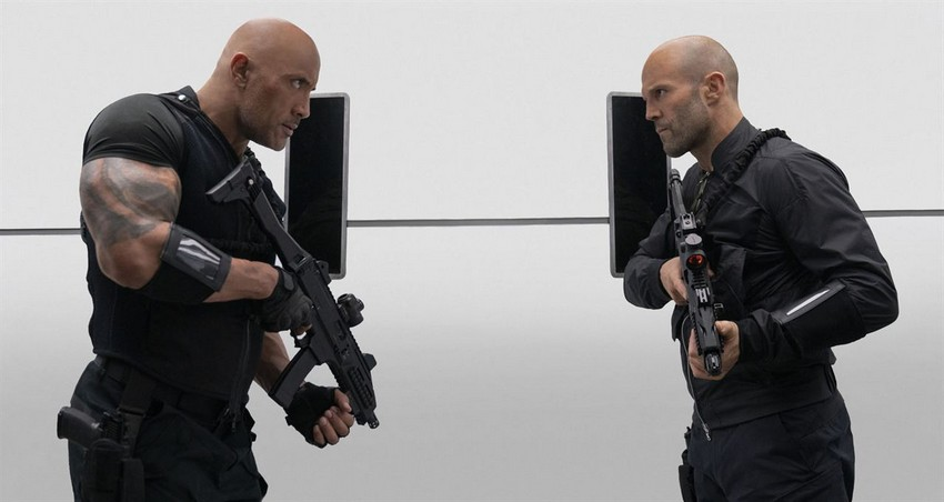 """""""Buckle up, fat boy!"""" Watch the action-packed new trailer for Hobbs & Shaw 2"""