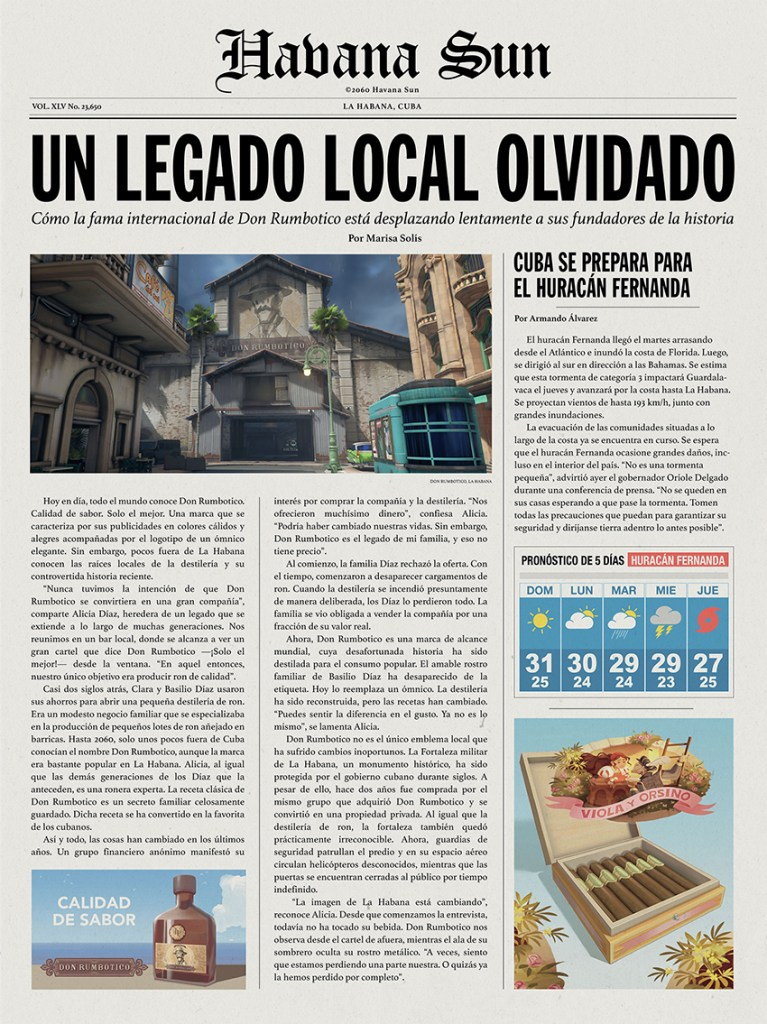 Havana local news reveals that Overwatch is travelling to Cuba 2