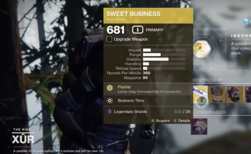 Destiny 2: Where is Xur (and whats he got for sale?) – May 24 4