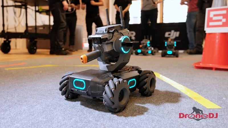 DJI unveils a new programmable robot tank 4