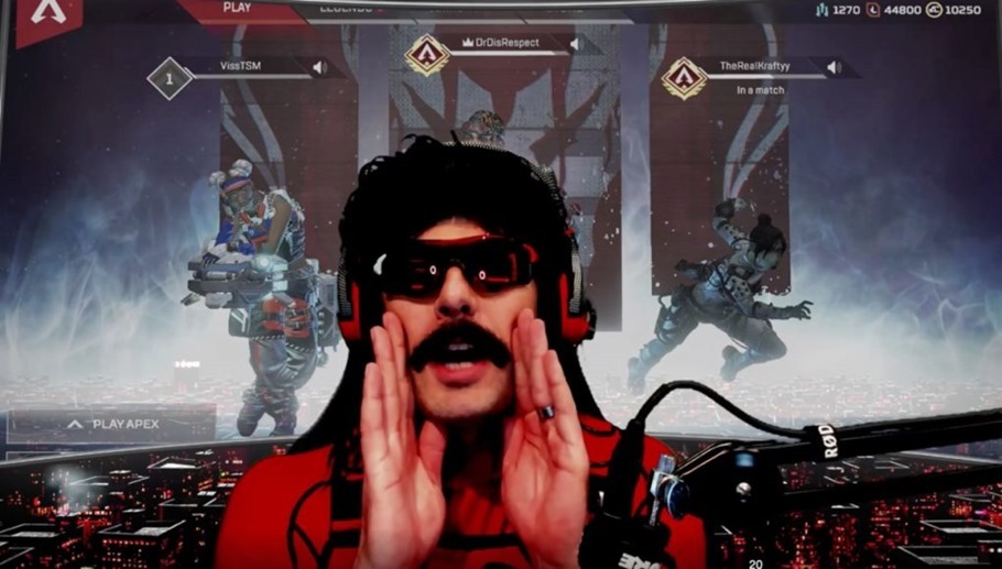 Dr. Disrespect's Twitch Ban Has Been Lifted