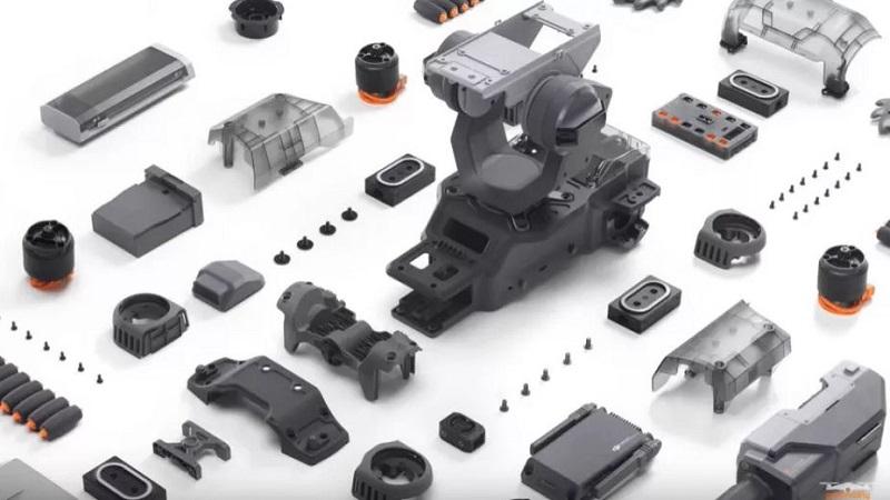 DJI unveils a new programmable robot tank 6