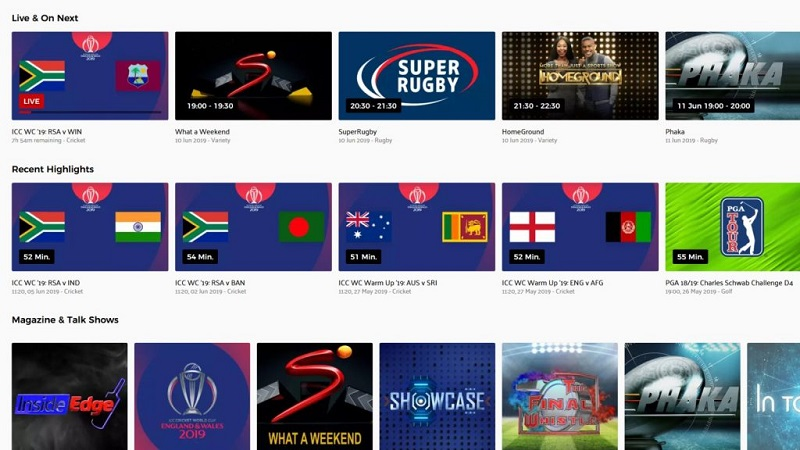 Showmax launches a new streaming package in Africa with live news and sports 4