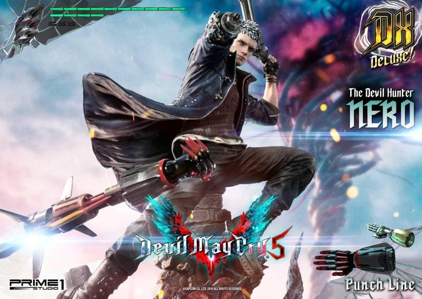 Devil May Cry V's Nero is ready to kick demon ass again in this magnificent Prime 1 statue 50