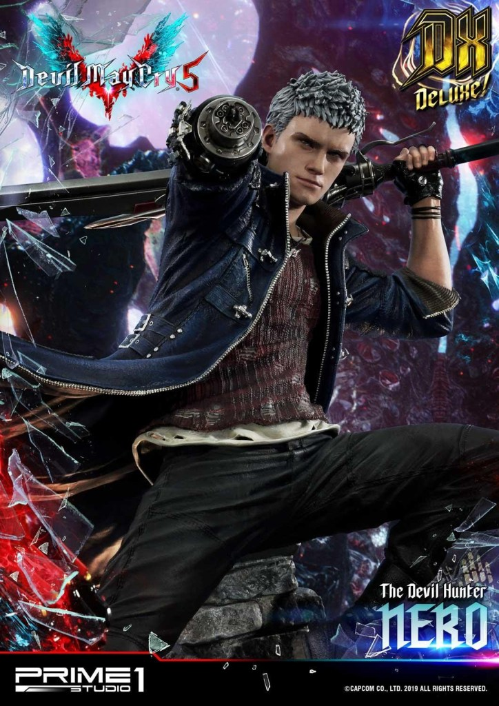Devil May Cry V's Nero is ready to kick demon ass again in this magnificent Prime 1 statue 51