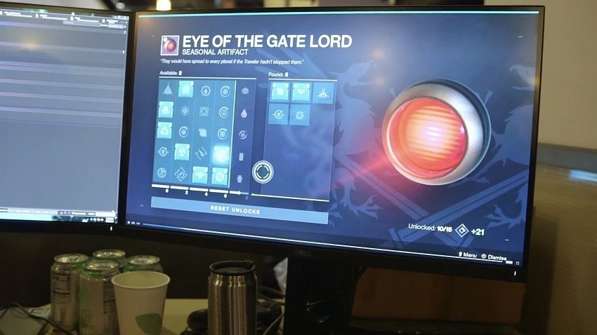 Destiny 2 artifact