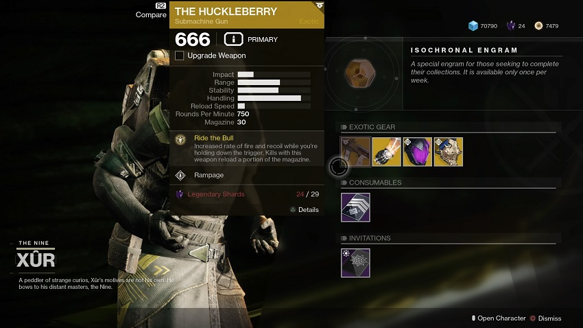 Destiny 2: Where is Xur (and whats he got for sale?) – July 05 4