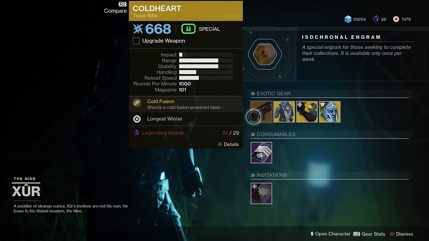 Destiny 2: Where is Xur (and whats he got for sale?) – July 19 4