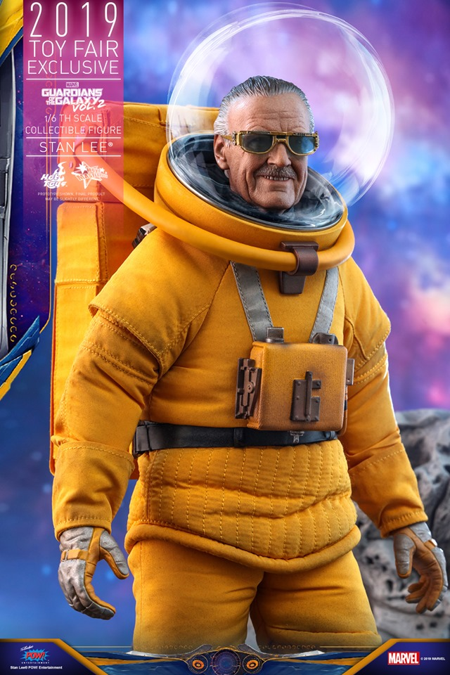 Excelsior! Stan Lee lives once again in this new Hot Toys replica figure 17