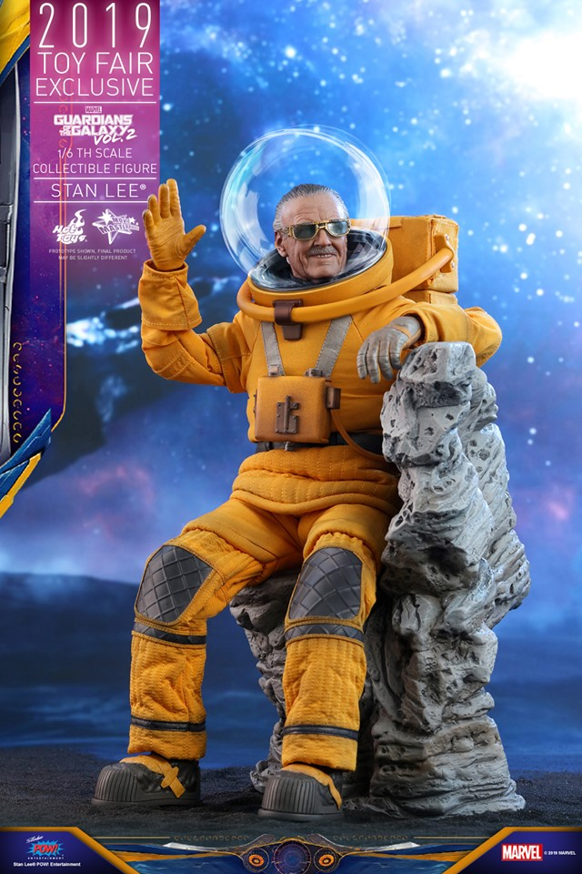 Excelsior! Stan Lee lives once again in this new Hot Toys replica figure 23
