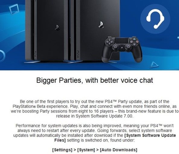 Sony sending out beta invites