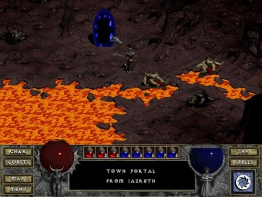 You can play the original Diablo in your browser for free