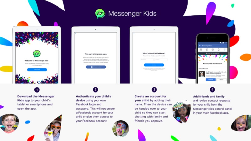 Facebook's Messenger Kids app has a flaw which could expose kids to unauthorised users 3