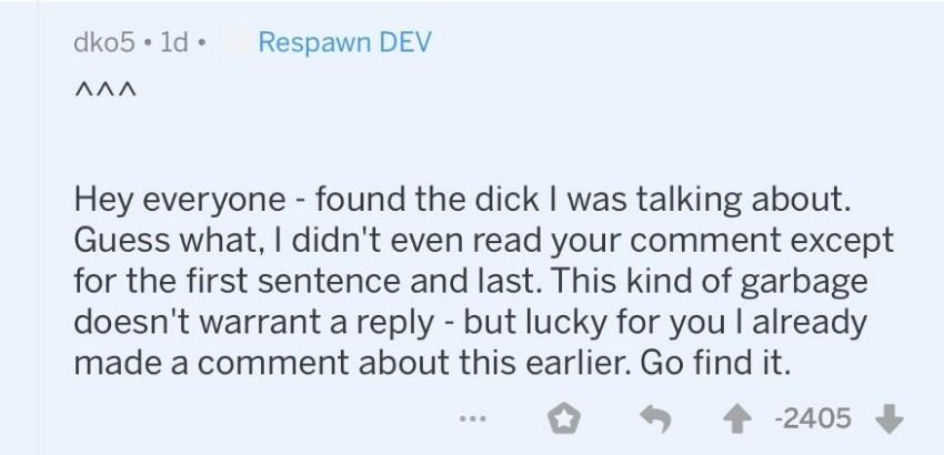 """Apex Legends devs apologise for Iron Crown snafu, then spark forum war by calling players """"ass-hats"""" 14"""
