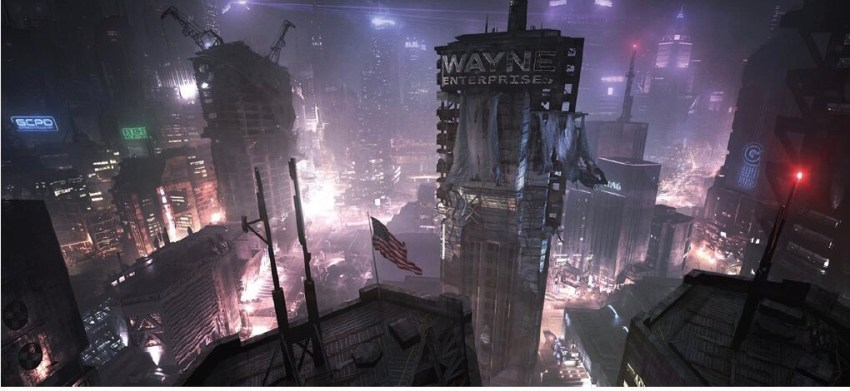 Maybe it's fake, maybe it's real but here's a look at leaked art for the Batman: Arkham Knight game that was almost made 14