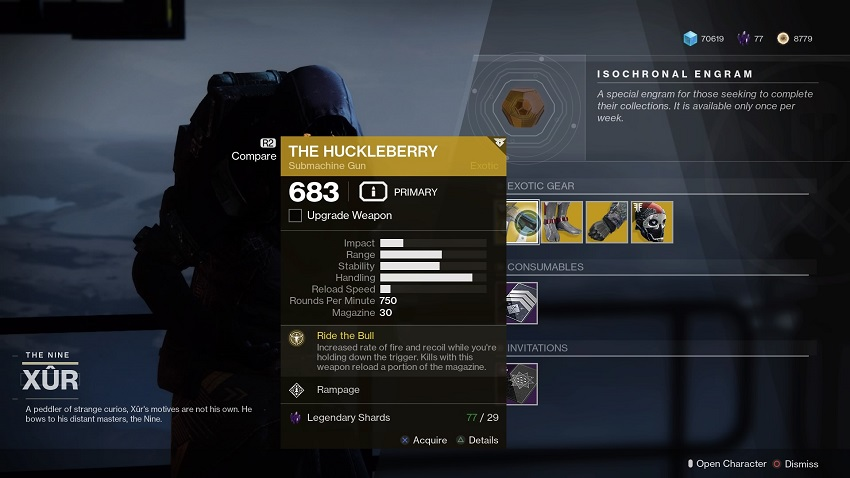 Destiny 2: Where is Xur (and whats he got for sale?) – August 02 4