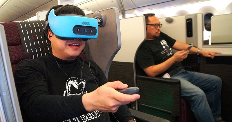 British Airways piloting the use of VR entertainment on flights 4