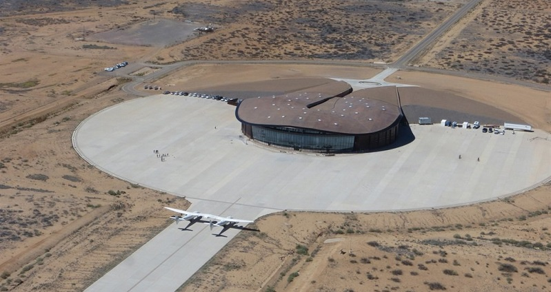 Virgin Galactic reveals images of their new spaceport lounge 5