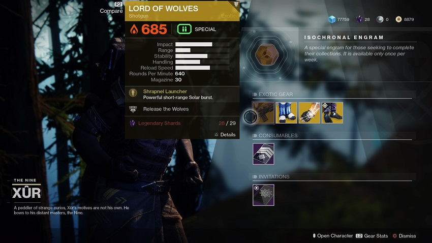 Destiny 2: Where is Xur (and whats he got for sale?) – September 06 2
