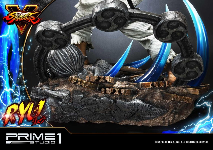 For $1299, you get a lot of Street Fighter in this Ryu statue from Prime 1 32