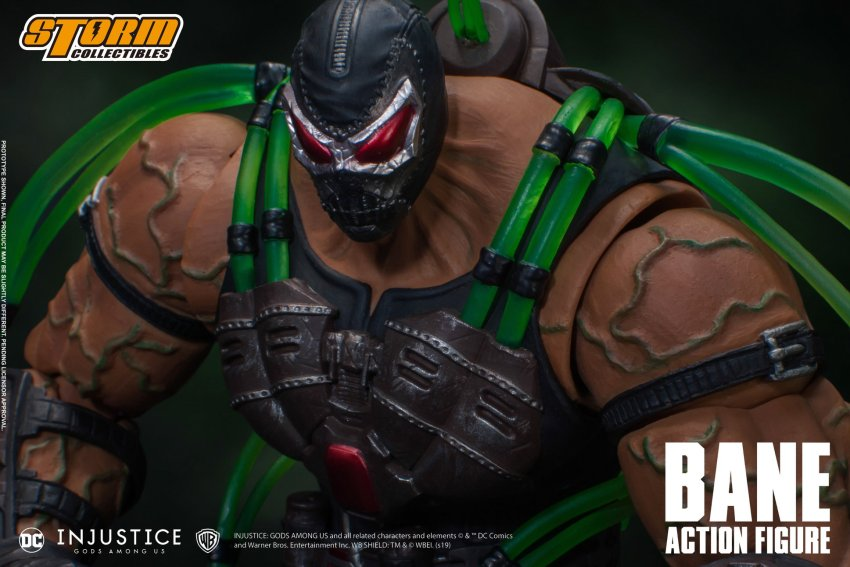 Storm Collectibles Bane is ready to break the bat once again 17