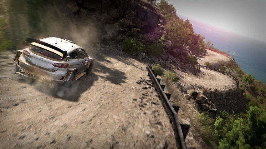 WRC 8 review - Twigs and leaves in the fuel 6