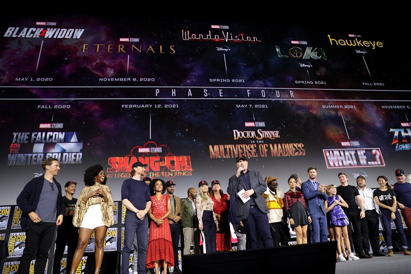 Kevin Feige promoted to Marvel Chief Creative Officer; takes over TV, comics, and animated divisions 5