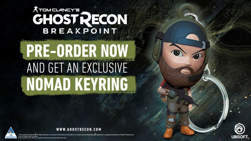 Last Chance: Win a Ghost Recon Breakpoint hamper including a copy of the game and a Nomad UbiCollectibles figurine! 17