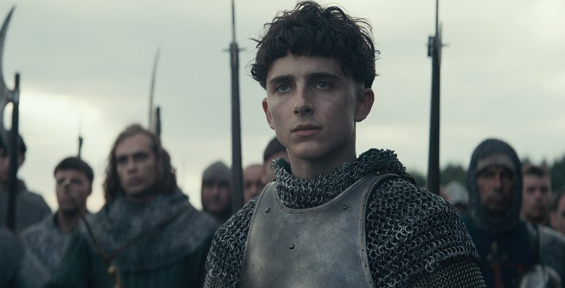Timothee Chalamet's crown is heavy in this trailer for The King 2
