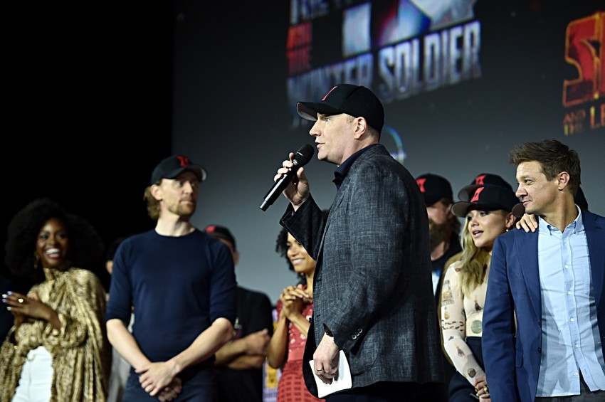 Kevin Feige promoted to Marvel Chief Creative Officer; takes over TV, comics, and animated divisions 6