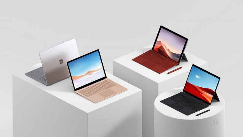 Microsoft unveils updated Surface devices 7