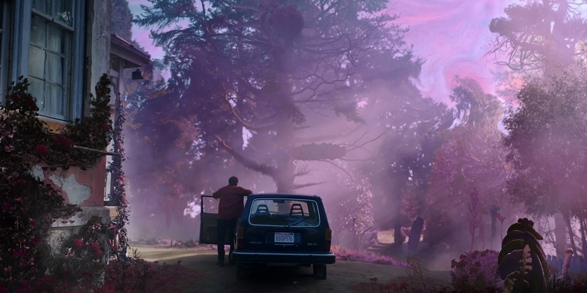 Nicolas Cage's idyllic family retreat morphs into a nightmare in the H.P. Lovecraft adaption Color Out of Space 3