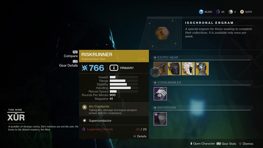 Destiny 2: Where is Xur (and whats he got for sale?) – November 15 6