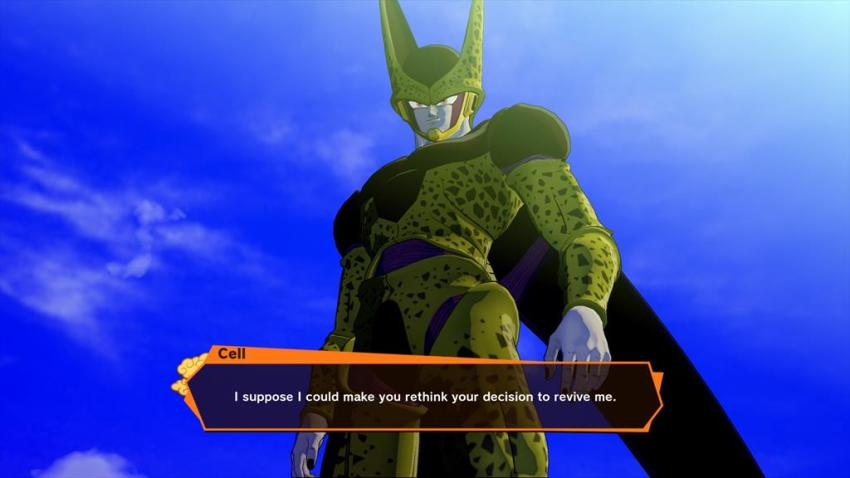 Dragon Ball Z: Kakarot will allow you to revive powerful enemies using the Dragon Balls and darn it Goku you idiot don't do that 10