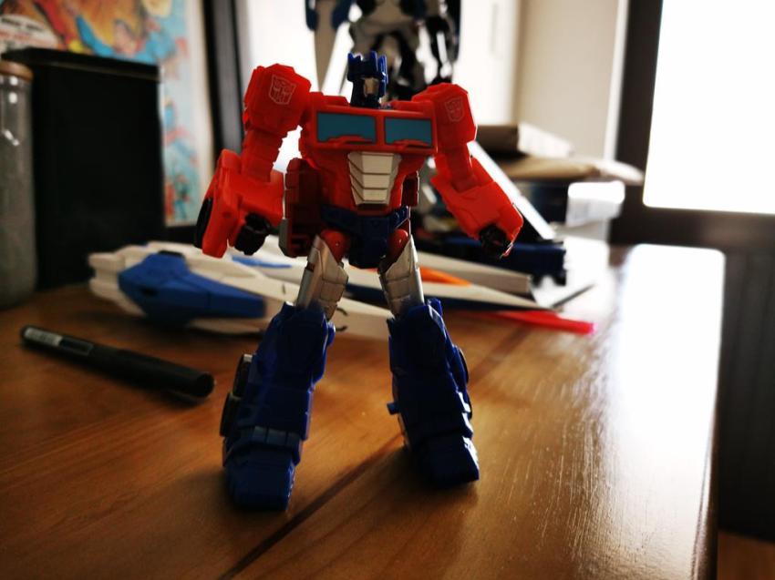 Transformers Cyberverse Spark Armour Optimus Prime Review 19