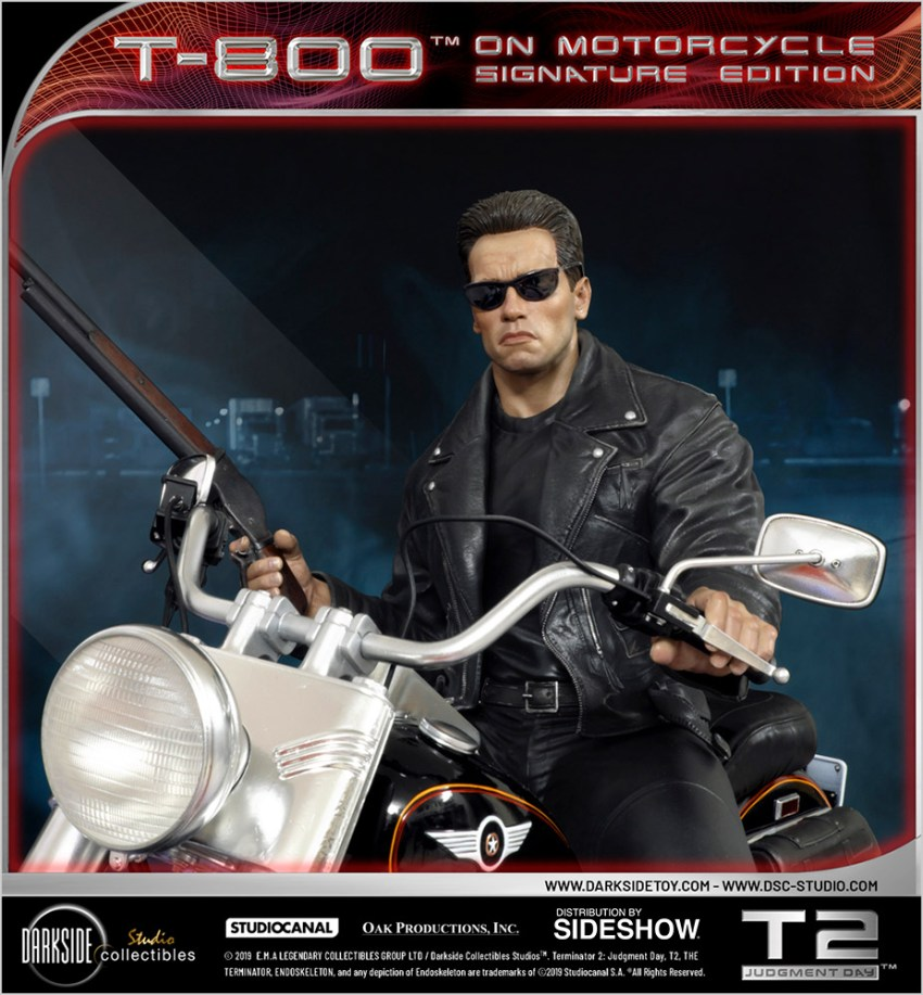 I need your clothes, your boots and your motorcycle after buying this Terminator 2 statue 41