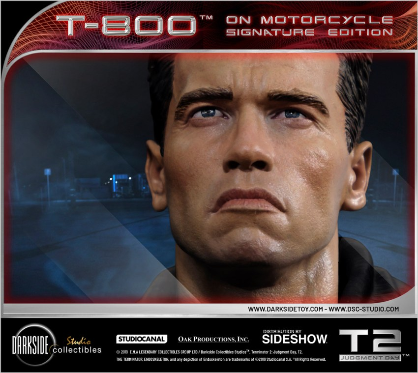 I need your clothes, your boots and your motorcycle after buying this Terminator 2 statue 45