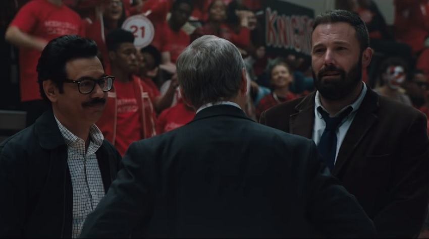 Ben Affleck is on the path to recovery and redemption in the sports drama The Way Back 3