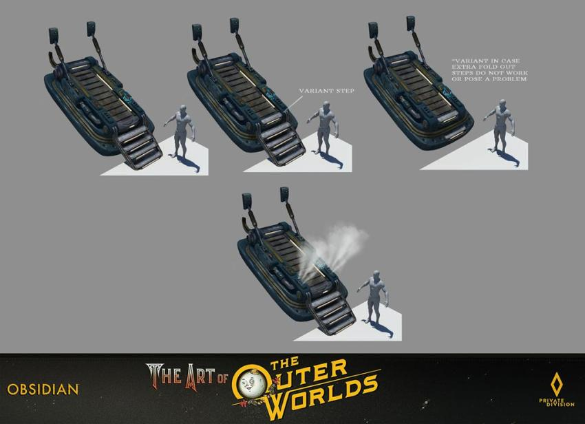The art of The Outer Worlds 145
