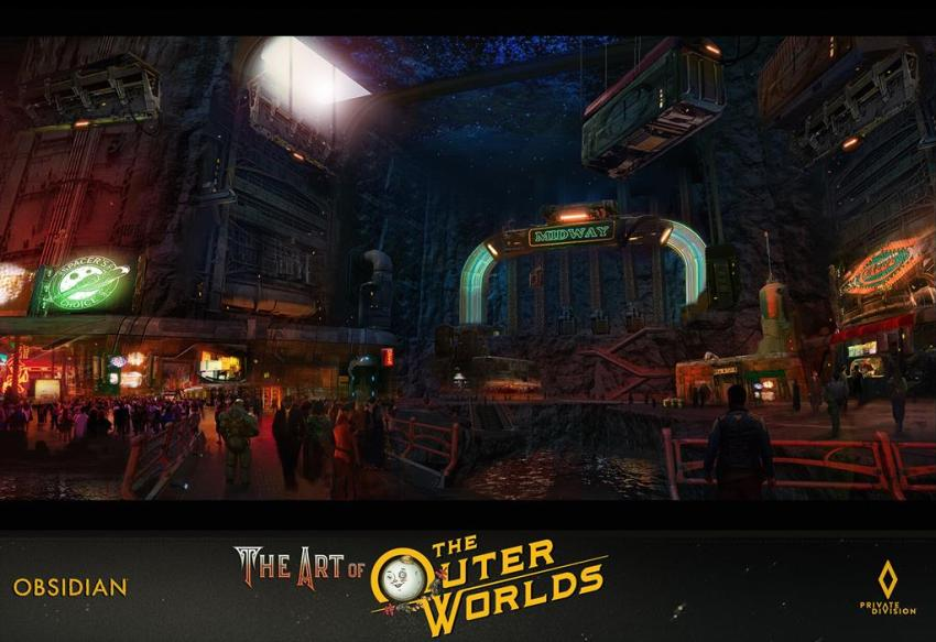 The art of The Outer Worlds 159