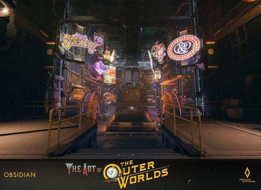 The art of The Outer Worlds 100
