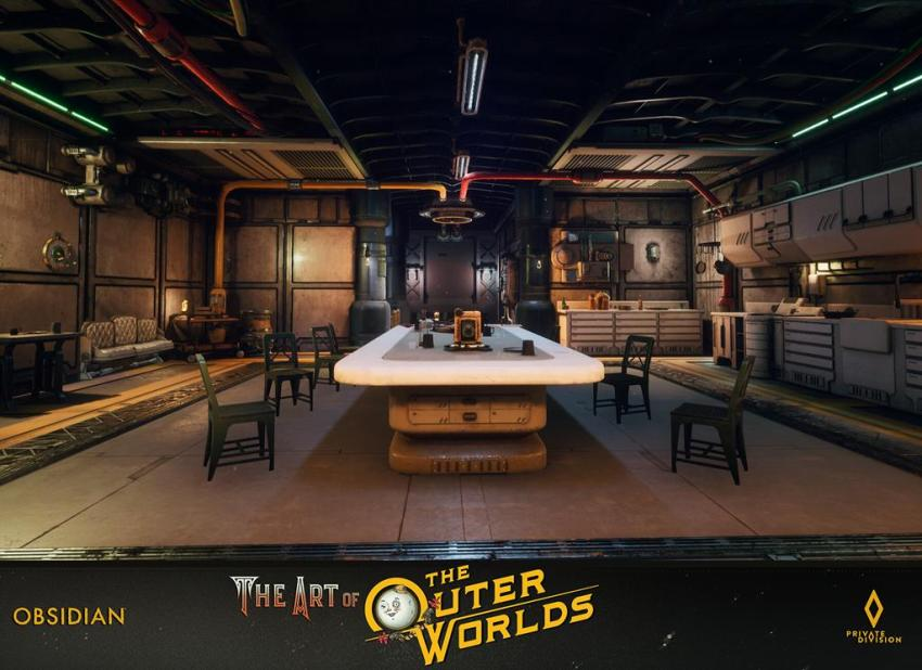 The art of The Outer Worlds 107